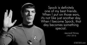Spock as Friend
